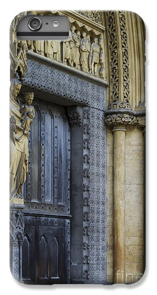 The Great Door Westminster Abbey London IPhone 6 Plus Case by Tim Gainey