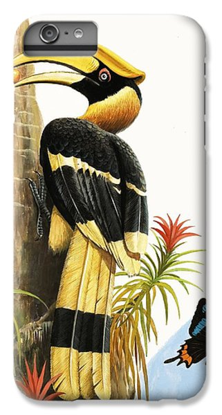 Toucan iPhone 6 Plus Case - The Hornbill by RB Davis