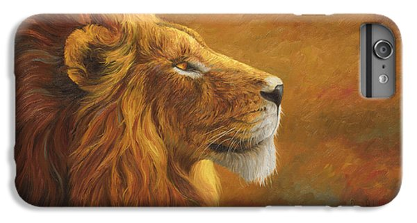 The King IPhone 6 Plus Case by Lucie Bilodeau