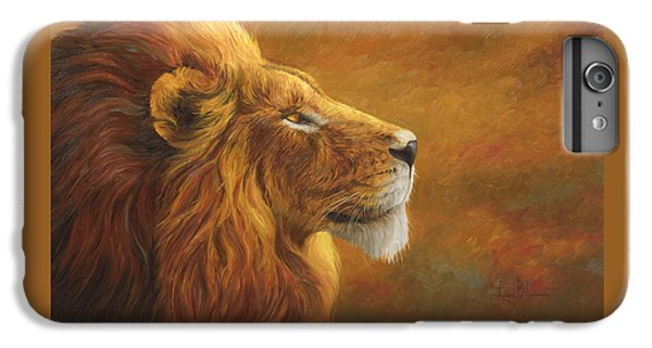 Lion iPhone 6 Plus Case - The King by Lucie Bilodeau