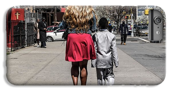 Harlem iPhone 6 Plus Case - The Lady And Her Gentleman by Pablo Abreu
