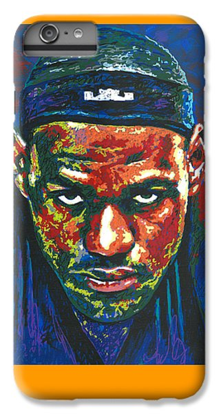 The Lebron Death Stare IPhone 6 Plus Case
