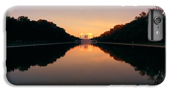 The Lincoln Memorial At Sunset IPhone 6 Plus Case by Panoramic Images