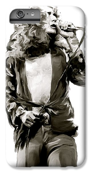 The Lion  Robert Plant IPhone 6 Plus Case by Iconic Images Art Gallery David Pucciarelli