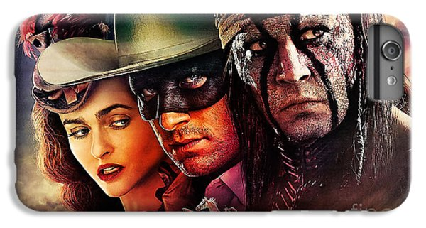 The Lone Ranger Painting IPhone 6 Plus Case by Marvin Blaine