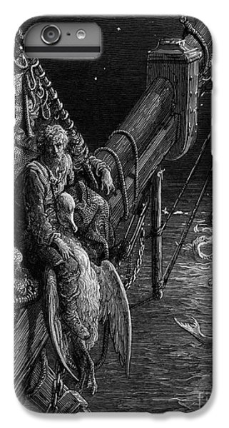 The Mariner Gazes On The Serpents In The Ocean IPhone 6 Plus Case by Gustave Dore