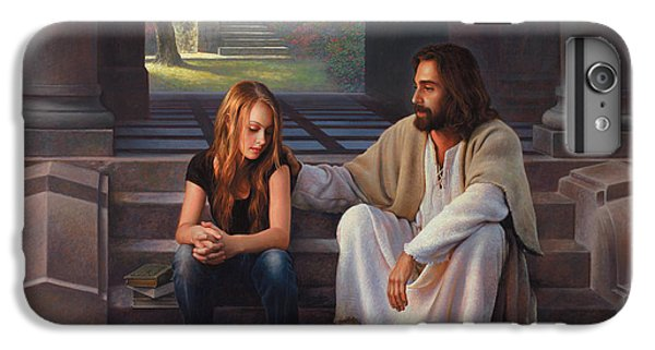 Christ iPhone 6 Plus Case - The Master's Touch by Greg Olsen