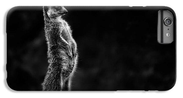 Meerkat iPhone 6 Plus Case - The Meerkat by Greetje Van Son