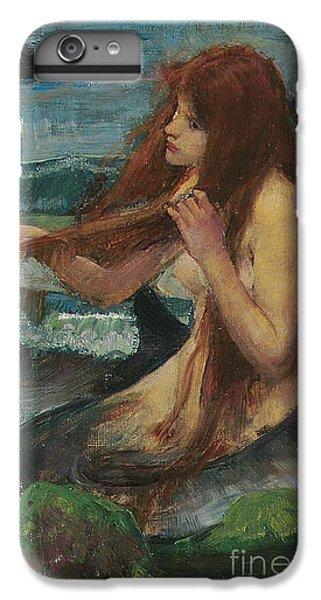 The Mermaid IPhone 6 Plus Case by John William Waterhouse