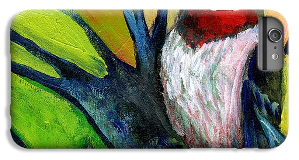 Woodpecker iPhone 6 Plus Case - The Neverending Story No 124 by Jennifer Lommers
