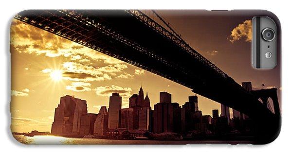 City Sunset iPhone 6 Plus Case - The New York City Skyline - Sunset by Vivienne Gucwa