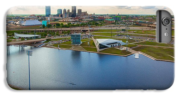 Capitol Building iPhone 6 Plus Case - The Oklahoma River by Cooper Ross