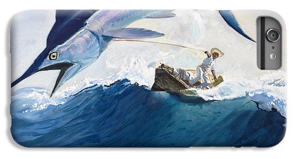 The Old Man And The Sea IPhone 6 Plus Case by Harry G Seabright