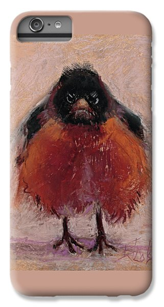 The Original Angry Bird IPhone 6 Plus Case by Billie Colson