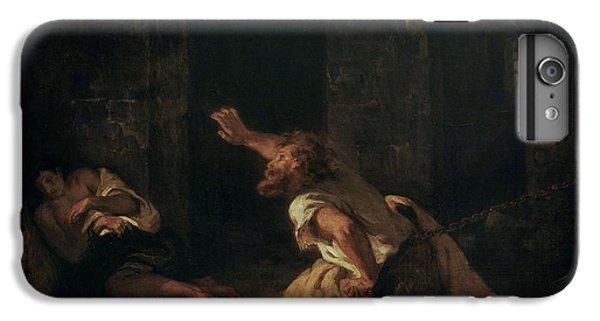 Dungeon iPhone 6 Plus Case - The Prisoner Of Chillon by Ferdinand Victor Eugene Delacroix