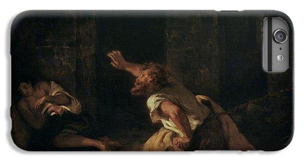 The Prisoner Of Chillon IPhone 6 Plus Case by Ferdinand Victor Eugene Delacroix
