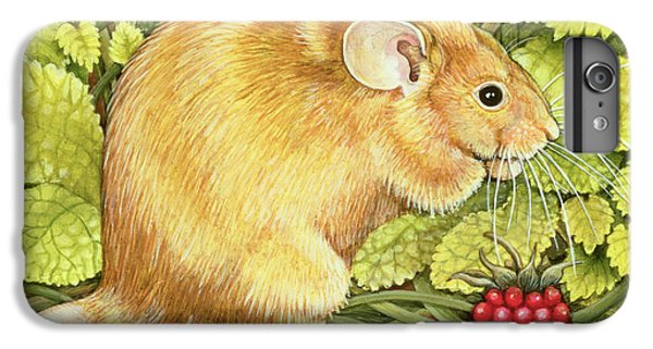 The Raspberry Mouse IPhone 6 Plus Case by Ditz