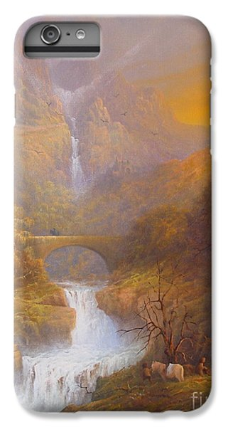 The Road To Rivendell The Lord Of The Rings Tolkien Inspired Art  IPhone 6 Plus Case by Joe  Gilronan