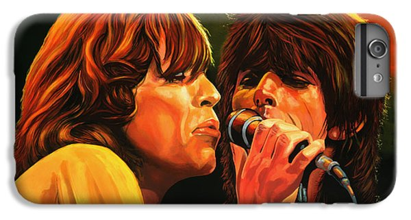 Goat iPhone 6 Plus Case - The Rolling Stones by Paul Meijering