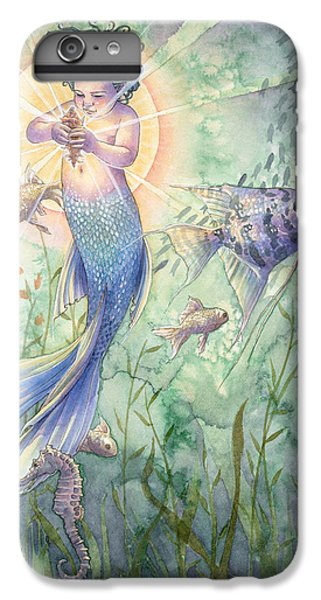 Seahorse iPhone 6 Plus Case - The Talisman by Sara Burrier