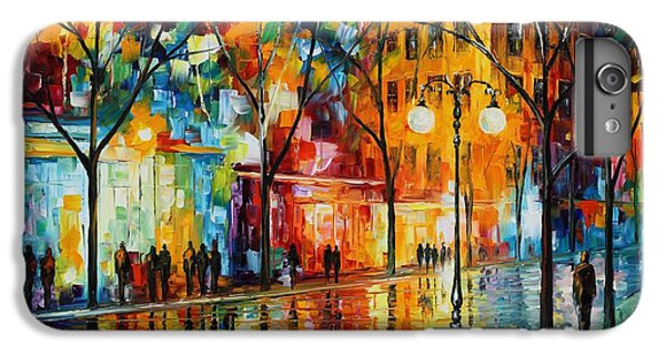 Afremov iPhone 6 Plus Case - The Tears Of The Fall - Palette Knife Oil Painting On Canvas By Leonid Afremov by Leonid Afremov