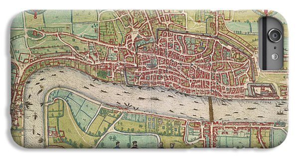 Tower Of London iPhone 6 Plus Case - The Thames by British Library