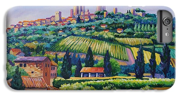 The Towers Of San Gimignano IPhone 6 Plus Case
