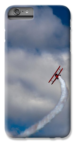 Airplane iPhone 6 Plus Case - The Vapor Trail by David Patterson