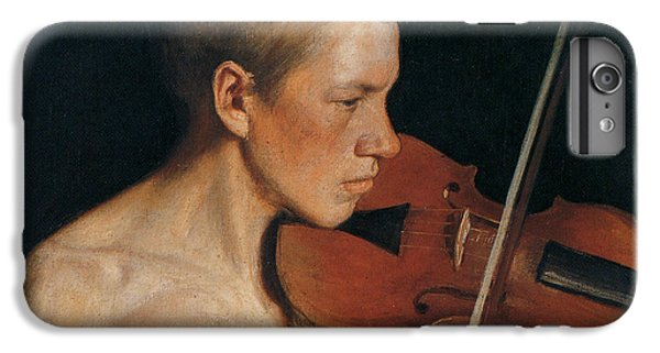 The Violinist IPhone 6 Plus Case by Celestial Images