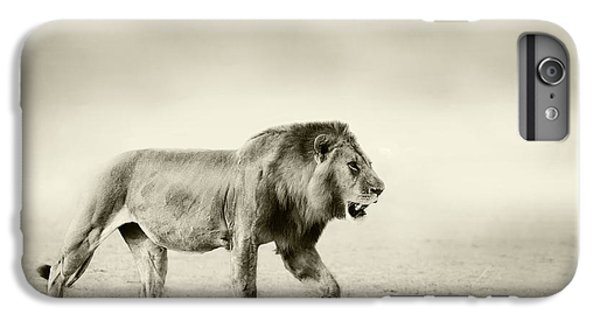 Lion iPhone 6 Plus Case - The Walk by Wildphotoart