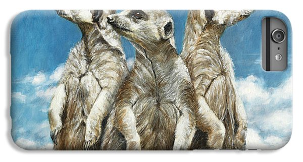 Meerkat iPhone 6 Plus Case - The Watchers by Dreyer Wildlife Print Collections