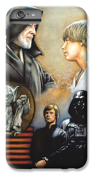 Knight iPhone 6 Plus Case - The Way Of The Force by Edward Draganski