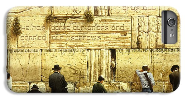 The Western Wall  Jerusalem IPhone 6 Plus Case