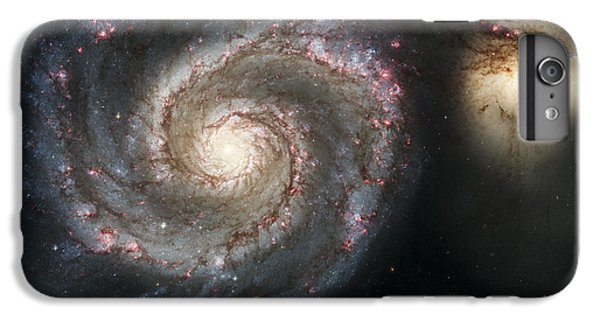 The Whirlpool Galaxy M51 And Companion IPhone 6 Plus Case by Adam Romanowicz