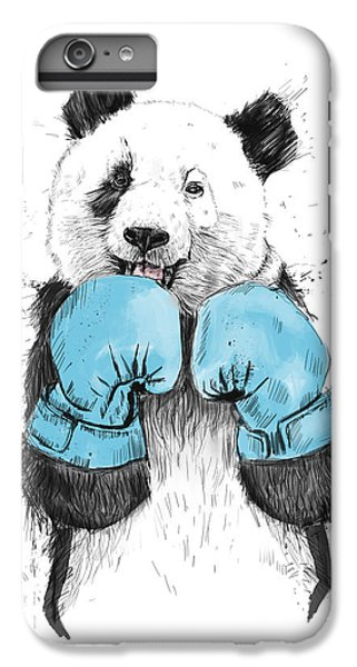White iPhone 6 Plus Case - The Winner by Balazs Solti