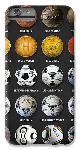 The World Cup Balls IPhone 6 Plus Case by Taylan Apukovska