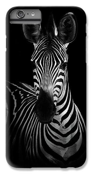 Africa iPhone 6 Plus Case - The Zebra by Wildphotoart