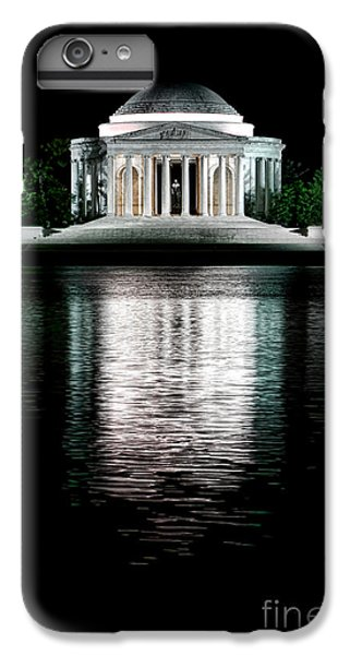 Jefferson Memorial iPhone 6 Plus Case - Thomas Jefferson Forever by Olivier Le Queinec
