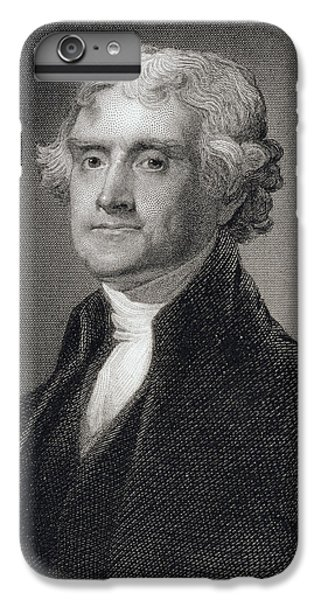 Thomas Jefferson IPhone 6 Plus Case by Gilbert Stuart