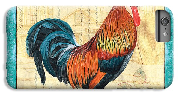 Tiffany Rooster 1 IPhone 6 Plus Case by Debbie DeWitt