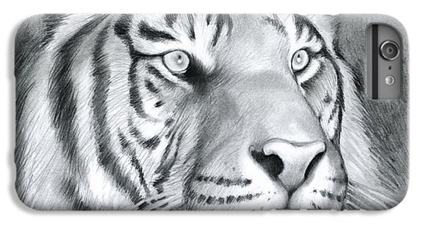 Tiger iPhone 6 Plus Case - Tiger by Greg Joens