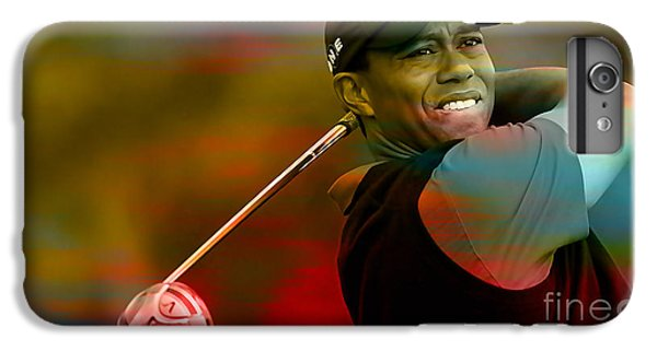 Tiger Woods IPhone 6 Plus Case by Marvin Blaine