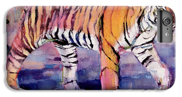Tigress, Khana, India IPhone 6 Plus Case by Mark Adlington