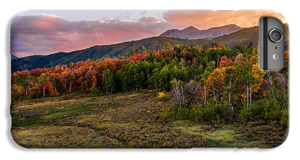 Mountain Sunset iPhone 6 Plus Case - Timp Fall Glow by Chad Dutson