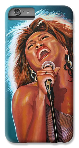 Tina Turner 3 IPhone 6 Plus Case by Paul Meijering