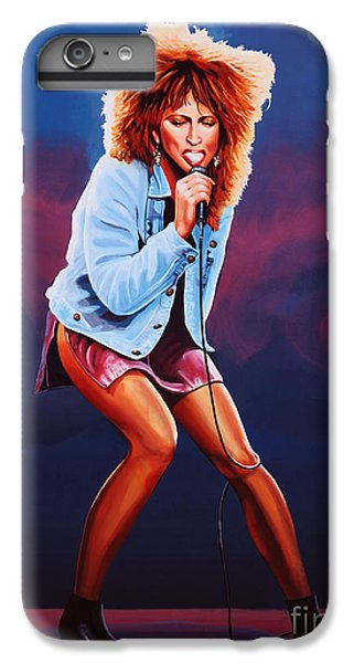 Tina Turner IPhone 6 Plus Case by Paul Meijering