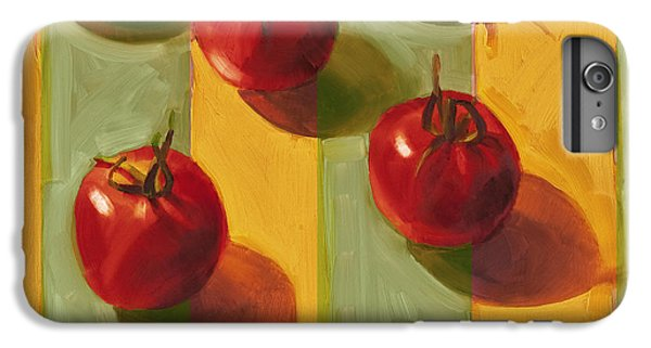 Tomatoes IPhone 6 Plus Case by Cathy Locke