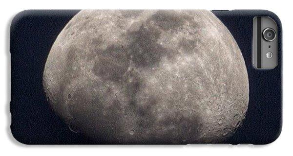 Tonight's Gibbous Moon #moon #night IPhone 6 Plus Case