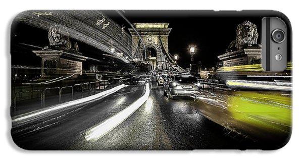 Lion iPhone 6 Plus Case - Too Much Traffic by Carmine Chiriac??