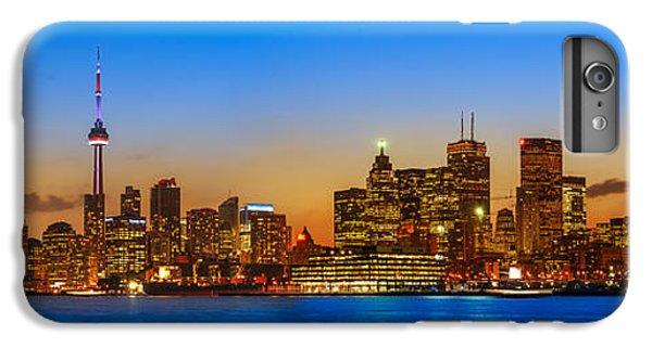 Toronto Skyline Panorama IPhone 6 Plus Case by Sebastian Musial